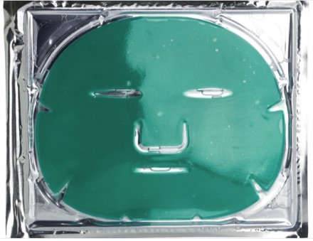 Коллагеновая балансирующая маска с зеленым чаем для жирной и смешанной кожи Beauty Style Контроль 1шт: фото