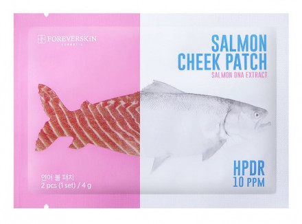 Увлажняющие патчи для губ и лица FOREVERSKIN Salmon Cheek Patch 8 г: фото
