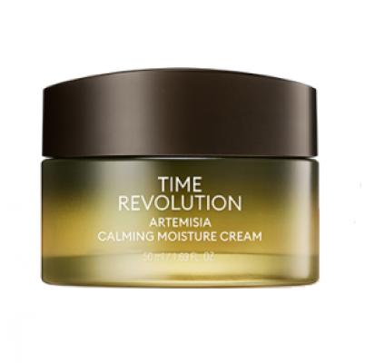 Успокаивающий крем для лица MISSHA Time Revolution Artemisia Calming Moisture Cream 50мл: фото