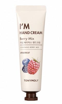 Увлажняющий крем для рук с экстрактом ягод TONY MOLY I'M HAND CREAM Berry Mix 30мл: фото